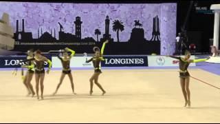 Сборная Украины ( 10 булав) Чемпионат Мира Измир 2014 Финал TUD(, 2014-09-28T13:44:19.000Z)