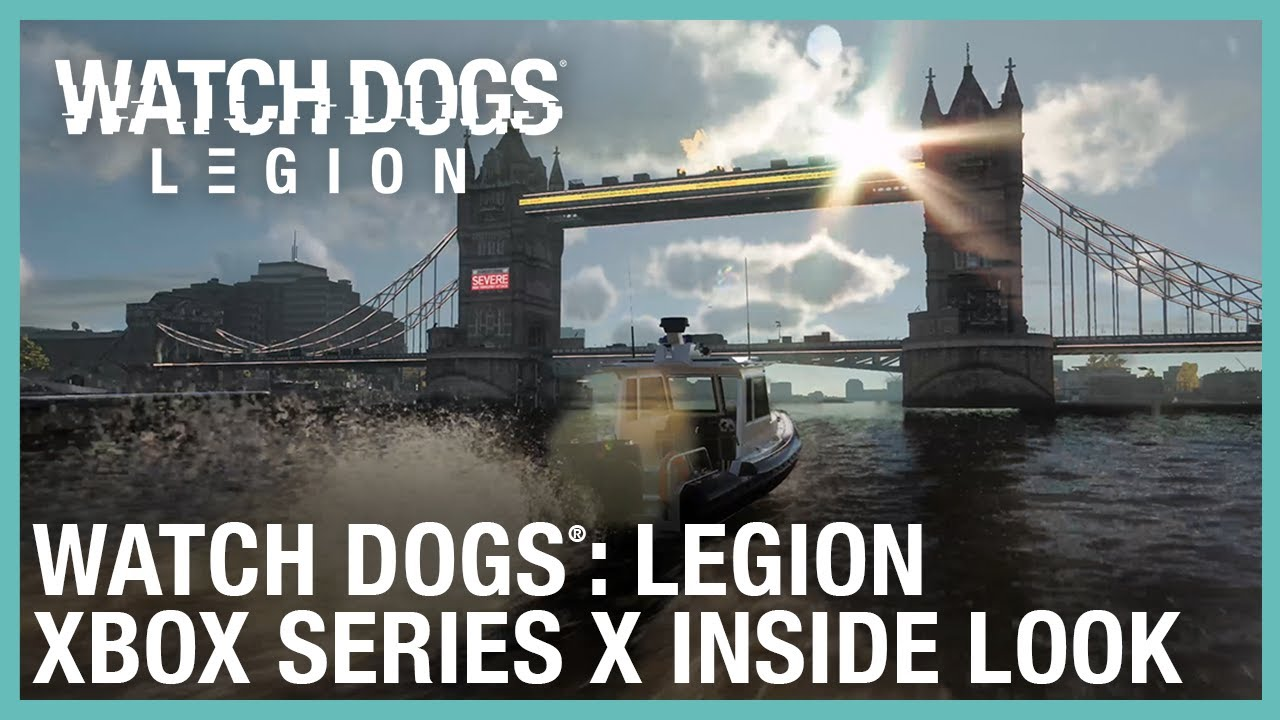 Watch Dogs: Legion Xbox Series X Inside Look | Ubisoft