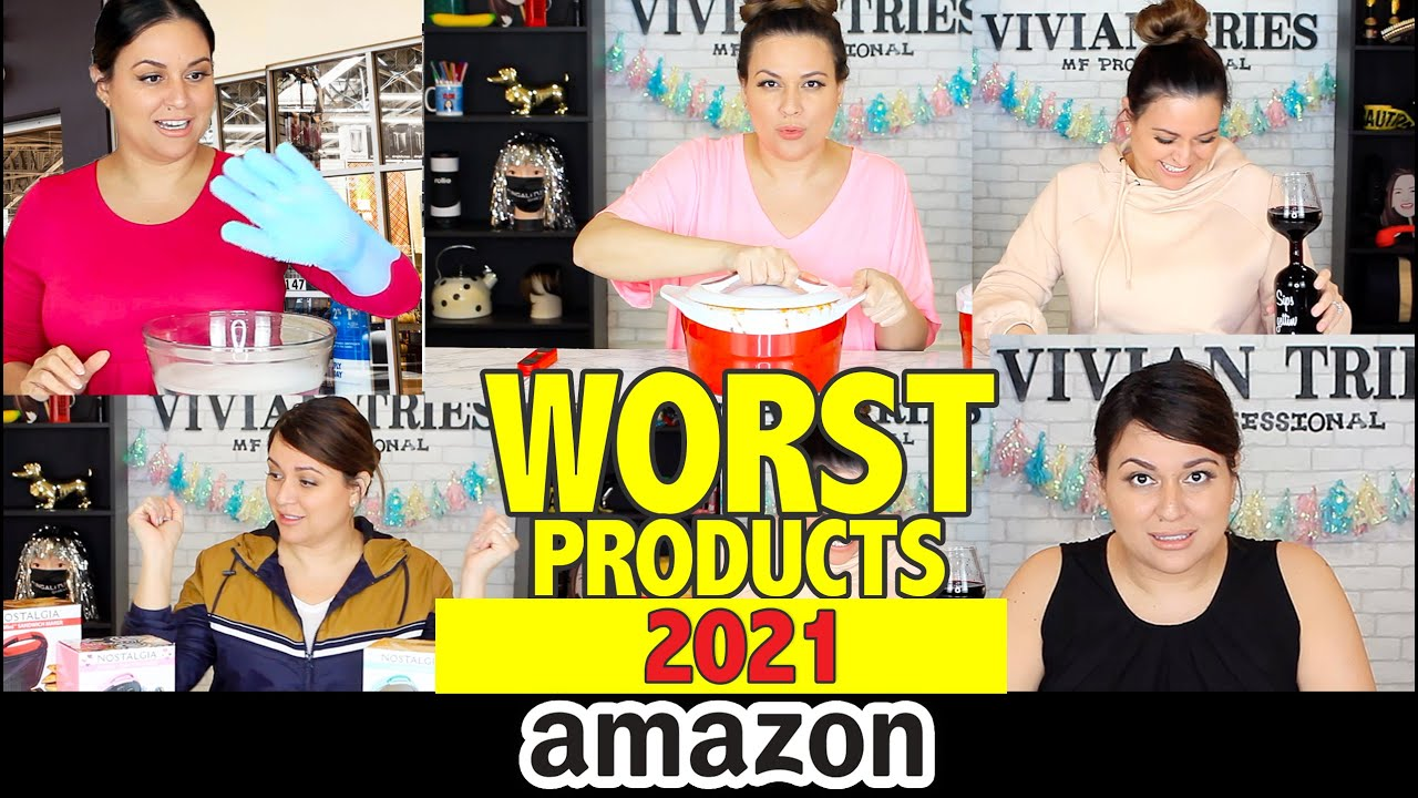 9 WORST Amazon Products You Must NOT Have   Vivian Tries