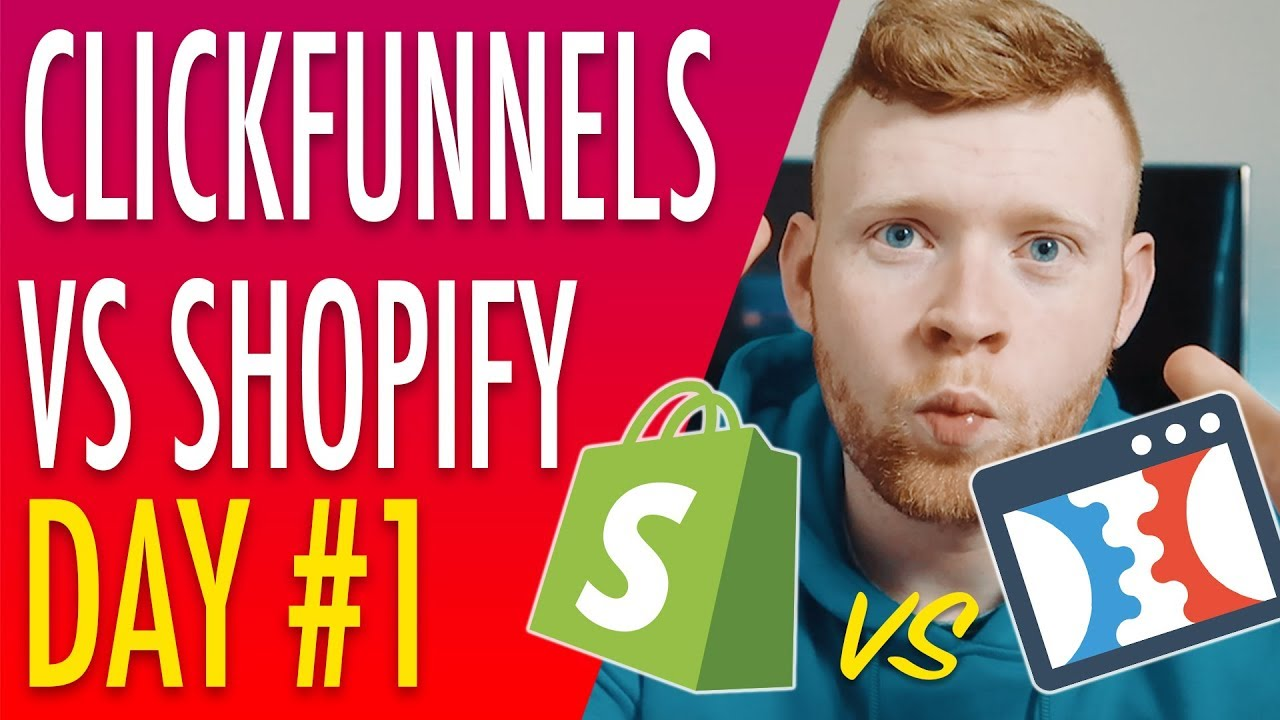 Clickfunnels Training #1: Clickfunnels VS Shopify For Dropshipping