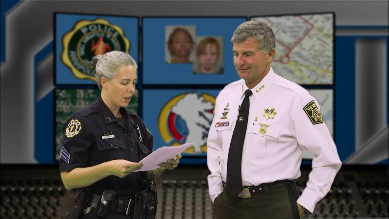 Anne Arundel's Most Wanted October 2018 Sheriff Bateman's Final Episode