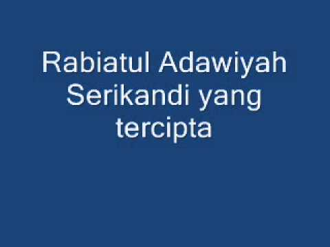 Free Download Lirik Rabiatul Adawiyah Inteam Mp3 dan Mp4
