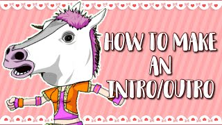 How to make an Intro & Outro | Gacha studio