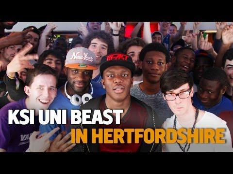 KSI Uni Beast - Hertfordshire University