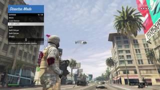GTA V Director Mode Military Madness!!!!