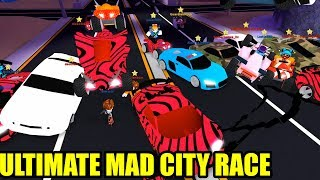 ULTIMATE MAD CITY VOLCANO RACE!!!   Roblox Mad City