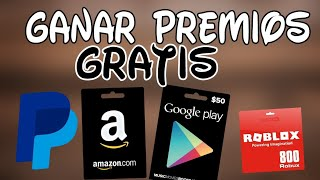 HOW TO WIN CARDS FROM GOOGLE PLAY, AMAZON, PAYPAL, STEAM, ROBLOX... (FREE/EASY) / 2018