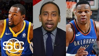 Video Stephen A. Smith predicts winner of Warriors vs. Thunder | SportsCenter | ESPN download MP3, 3GP, MP4, WEBM, AVI, FLV November 2017