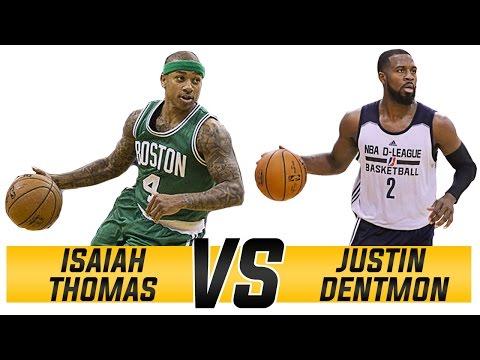 Isaiah Thomas VS. Justin Dentmon: The Small Guard Revolution