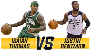 Isaiah Thomas VS. Justin Dentmon: The Small Guard Revolution