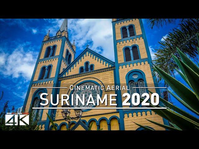 4K Drone Footage PARAMARIBO (Suriname) [DJI Phantom 4]