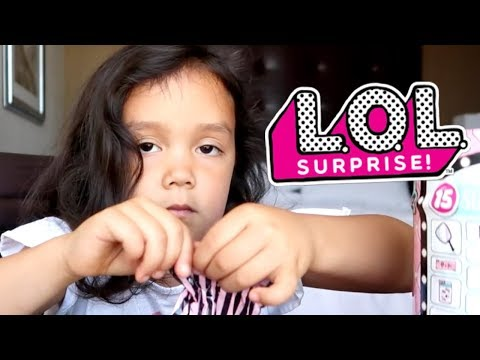Struggling with LOL Surprise ASMR