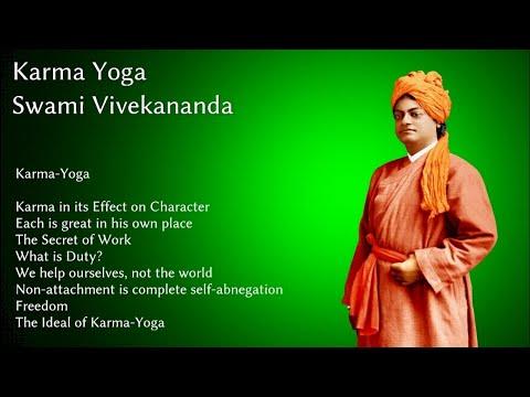 Swami Vivekananda, Karma Yoga Chapter 1: Karma in it