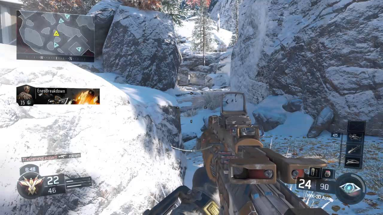 Call Of Duty Black Ops Iii Multiplayer New Snow Map Youtube
