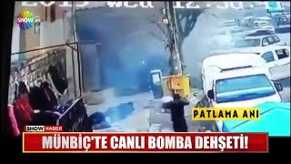 Münbiç'te canlı bomba dehşeti!