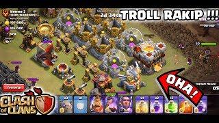TROLL KLAN SAVAŞI !! (Çok Şanslıyız) | Clash Of Clans