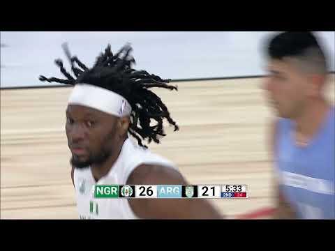 Game Recap: Nigeria 94, Argentina 71