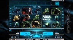 Aliens Video Slot Trailer new Netent game (release date 24-04-2014)