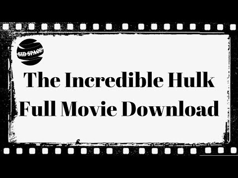 Download the incredible hulk dual audio hindi medium movie in hd.