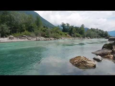 Travel video -  Rafting Slovenia - Soca river - outdoor adventure