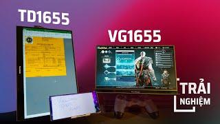 Trên tay màn hình di động TD1655 và VG1655 của ViewSonic: Trợ năng gọn nhẹ thích hợp di chuyển