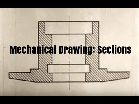Mechanical Drawing Tutorial: Sections by McGraw-Hill