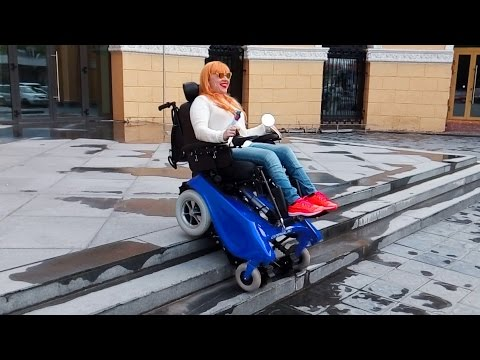 Stair climbing wheelchair - CaterWil GTS3