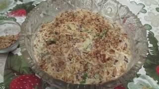653 - Кулинария/Салат с куриным филе и грибами