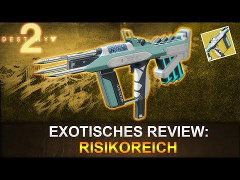 Destiny 2: Exotisches Review Risikoreich (Deutsch/German)