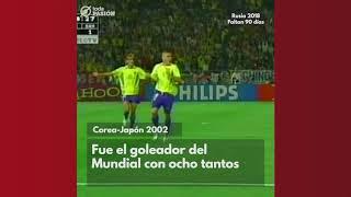 Momento Mundialista: Hoy recordamos al gran Ronaldo.