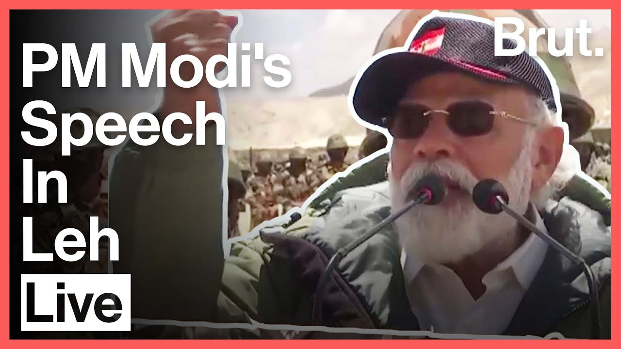 PM Modi Live From Leh