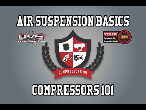 Air Compressors 101 With AVS