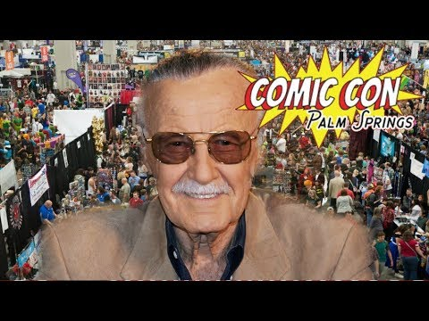 Comic Con Palm Springs 2017 Day One | Stan Lee here & MORE!!!!!