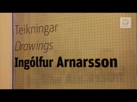 Ingólfur Arnarson - Teikningar // Drawings - Hafnarborg