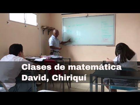 Clases de matemáticas en David Chiriquí. Marketing por Rise Panama. 6981.5000