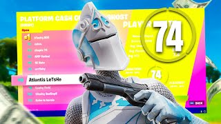 How I Placed 8th iฑ the Solo Cash Cup on Controller ($800)