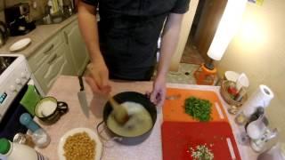 Готовим Довгу (Азербайджанский кисломолочный суп)
