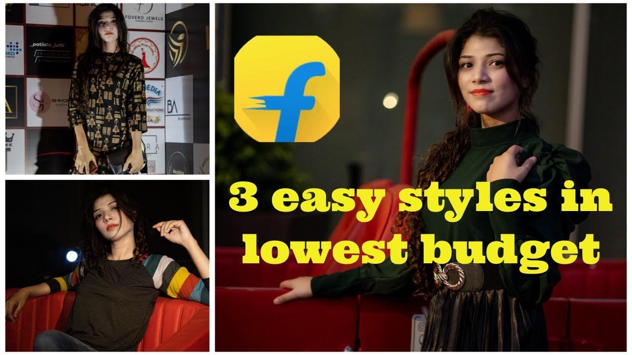 3 Easy Styles Starting Rs. 299 || Huge Flipkart Haul || Must Try || The noodles girl