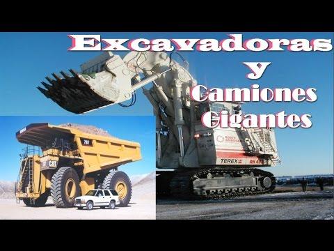 EXCAVADORAS, PALAS Y CAMIONES GIGANTES l NEXTGAME 727