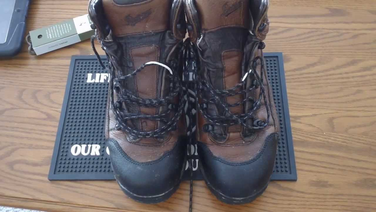 Danner hiking boot review - YouTube
