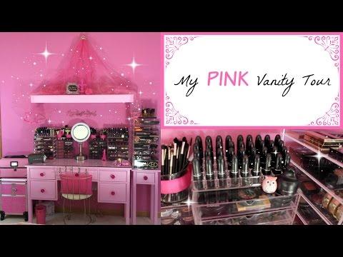 My PINK Vanity Tour!!