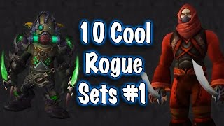 Jessiehealz - 10 Cool Rogue Transmog Sets #1 (World of Warcraft)