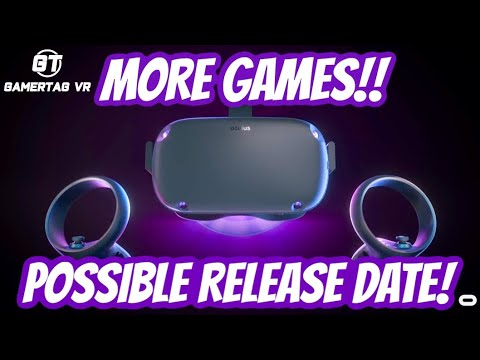 Oculus Quest Gets More Games PLUS Possible Release Date & Pricing