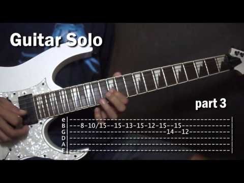 Your Love Alamid Guitar Solo Lesson Tutorial (WITH TABS)