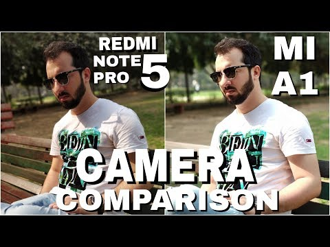 Redmi Note 5 Pro vs Mi A1 Camera Comparison | Redmi Note 5 Pro Camera Review|Mi A1 Camera Review