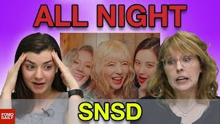 "Download Video Girls' Generation ""All Night (Clean Ver.)"" • Fomo Daily Reacts MP3 3GP MP4"