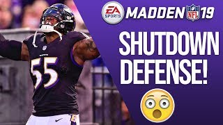 The Best Way To Play Defense In Madden 19! Sacks & Picks!