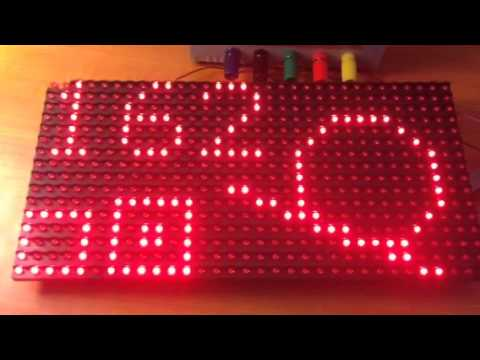 ESP8266 + Freetronics DMD - PWM Brightness Control