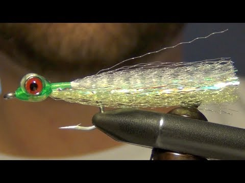 Super Hair Clouser Minnow Fly Tying Instructions and Directions