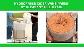 Hydropress Cider Wine Press
